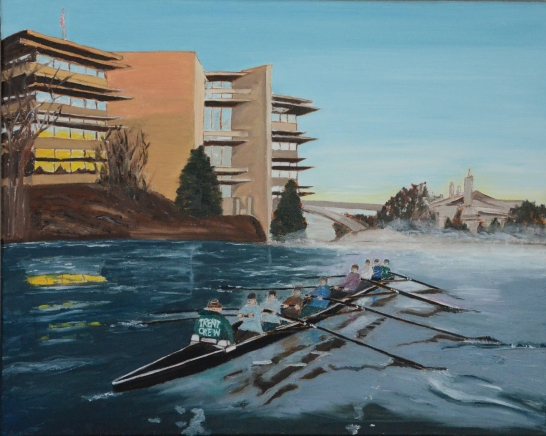 "Trent Crew (2014) - 16x20"", oil on canvas (commissioned)"