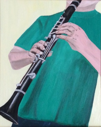 "Licorice Stick (2017) - 20x16"", oil on canvas"